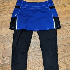 Athleta skort leggings